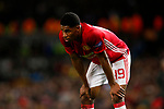 Marcus Rashford of Manchester United shows a look of tiredness towards the end of the match during the UEFA Europa League Quarter Final 2nd Leg match at Old Trafford, Manchester. Picture date: April 20th, 2017. Pic credit should read: Matt McNulty/Sportimage