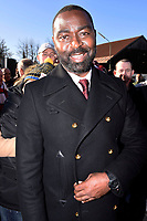 6th February 2020, Munich Riem Airport, Munich, Germany; Andy Cole at the laying of the foundation stone for a commemorative display case for the 62nd anniversary of the air crash at the former Munich Riem Airport, in which 23 people died, including eight Manchester United football players