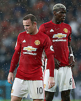 Wayne Rooney of Manchester United and Paul Pogba <br /> Hull City vs Manchester United -  Barclays Premier League - 27/08/2016 <br /> Foto Action Images / Panoramic / Insidefoto <br /> ITALY ONLY