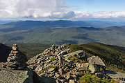 Hikers in the Alpine Zone along the Airline Trail in the White Mountains, New Hampshire USA.