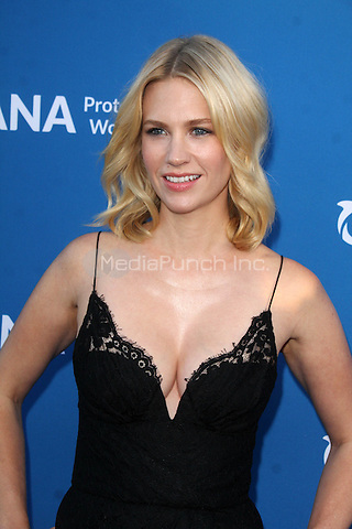 BEVERLY HILLS, CA - SEPTEMBER 28: January Jones at the Concert for Our Oceans hosted by Seth MacFarlane benefitting Oceana at the Wallis Annenberg Center for the Performing Arts on September 28, 2015. Credit: David Edwards/MediaPunch