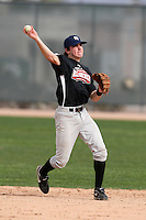 January 16, 2010:  Benjamin (Ben) Straka (Eugene, OR) of the Baseball Factory Northwest Team during the 2010 Under Armour Pre-Season All-America Tournament at Kino Sports Complex in Tucson, AZ.  Photo By Mike Janes/Four Seam Images