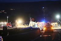 LKW-Unfall mit Vollsperrung auf der A7 bei Bad Hersfeld