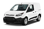 2018 Ford Transit-Connect Van-XL-SWB-(Rear-Liftgate) 5 Door Mini MPV Angular Front stock photos of front three quarter view