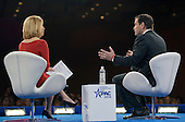 United States Senator Marco Rubio (Republican of Florida), a candidate for the Republican Party nomination for President of the United States, is interviewed by CNN's Dana Bash after speaking at the Conservative Political Action Conference (CPAC) at the Gaylord National Resort and Convention Center in National Harbor, Maryland on Saturday, March 5, 2016.<br /> Credit: Ron Sachs / CNP