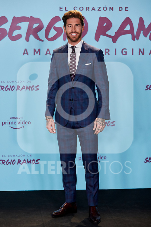 "Sergio Ramos attends to ""El Corazon De Sergio Ramos"" premiere at Reina Sofia Museum in Madrid, Spain. September 10, 2019. (ALTERPHOTOS/A. Perez Meca)"