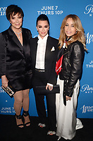 LOS ANGELES, CA - MAY 31: Kris Jenner, Kyle Richards and Faye Resnick at the Premiere Of Paramount Network's 'American Woman' - Arrivals at Chateau Marmont on May 31, 2018 in Los Angeles, California. <br /> CAP/MPI/DE<br /> &copy;DE//MPI/Capital Pictures