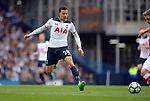 Dele Alli of Tottenham Hotspur during the English Premier League match at the White Hart Lane Stadium, London. Picture date: April 30th, 2017.Pic credit should read: Robin Parker/Sportimage