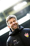 09.03.2019, Signal Iduna Park, Dortmund, GER, 1.FBL, Borussia Dortmund vs VfB Stuttgart, DFL REGULATIONS PROHIBIT ANY USE OF PHOTOGRAPHS AS IMAGE SEQUENCES AND/OR QUASI-VIDEO<br /> <br /> im Bild   picture shows:<br /> Thomas Hitzlsperger (Sportvorstand VfB) im Interview, <br /> <br /> Foto &copy; nordphoto / Rauch