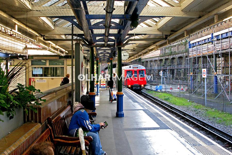 Estação do metrô. Londres. Inglaterra. 2008. Foto de Juca Martins.