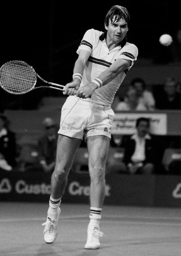 Photo. Steve Holland.1982.Jimmy Connor