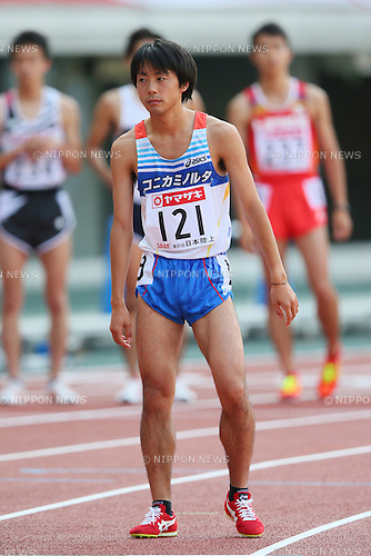 Tsuyoshi Ugachi (JPN), <br /> JUNE 8, 2013 - Athletics : <br /> The 97th Japan Track &amp; Field National Championships <br /> Men's 10000m Final <br /> at Ajinomoto Stadium, Tokyo, Japan. <br /> (Photo by YUTAKA/AFLO SPORT)