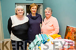 Kerry Federation ICA  at FENIT Church Hall on Sunday were Causeway ICAl-r  Phil Moriarty, Rita Scroope and Marie Donoghue, Spa/fenit.