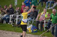 FIERLJEPPEN: BURGUM: 19-08-2019, Nationale Competitie, Jaco de Groot 21,94m, ©foto Martin de Jong