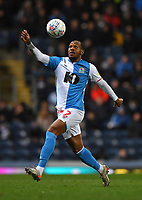 Blackburn Rovers' Ryan Nyambe<br /> <br /> Photographer Dave Howarth/CameraSport<br /> <br /> The EFL Sky Bet Championship - Blackburn Rovers v Hull City - Tuesday 11th February 2020 - Ewood Park - Blackburn<br /> <br /> World Copyright © 2020 CameraSport. All rights reserved. 43 Linden Ave. Countesthorpe. Leicester. England. LE8 5PG - Tel: +44 (0) 116 277 4147 - admin@camerasport.com - www.camerasport.com