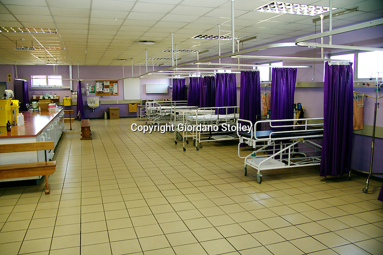 DURBAN - 14 June 2007 - Empty beds at the intensive care unit of Mahatma Gandhi Memorial Hospital. The ICU unit  was closed down as a result of staff being intimidated by striking government workers..Picture: Giordano Stolley/Allied Picture Press