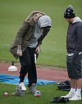 X Factor winner James Arthur finds some football boots