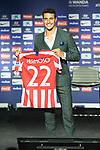 Atletico de Madrid's new player Mario Hermoso during his official presentation.  July 18, 2019. (ALTERPHOTOS/Francis Gonzalez)