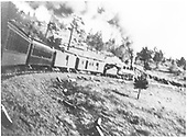 Passenger train probably on Cumbres Pass.<br /> D&amp;RGW  Cumbres Pass ?, CO