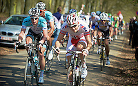 3 Days of De Panne.stage 2..Alexander Kristoff over the Kemmelberg.