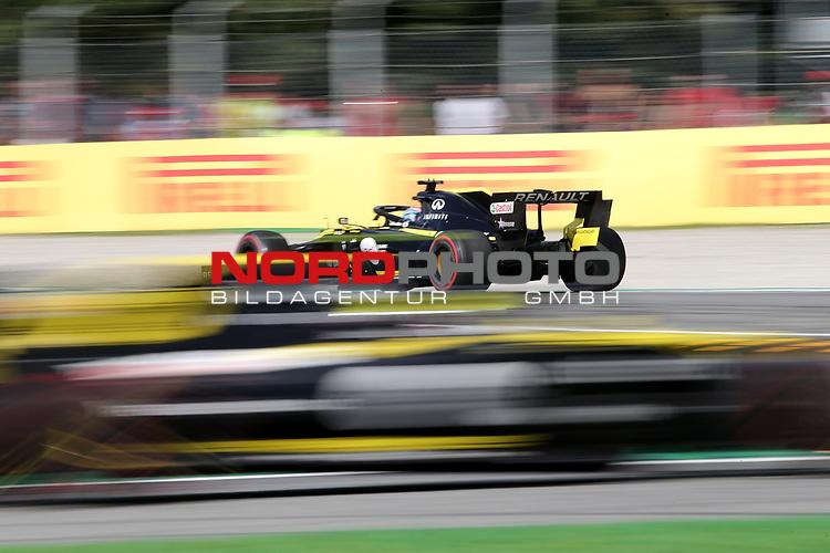 08.09.2019, Autodromo Nazionale di Monza, Monza, FORMULA 1 GRAN PREMIO HEINEKEN D'ITALIA 2019<br />,im Bild<br />Daniel Ricciardo (AUS#3), Renault F1 Team, Nico Hülkenberg (GER#27), Renault F1 Team<br /> <br /> Foto © nordphoto / Bratic