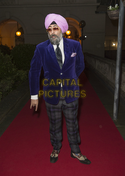 Hardeep Singh Kohli attends the India, Pakistan and London Fashion Show (IPL Fashion Show) at The Gibson Hall in London, England on the 4th March 2017 <br /> CAP/GM/PP<br /> &copy;Gary Mitchell/PP/Capital Pictures