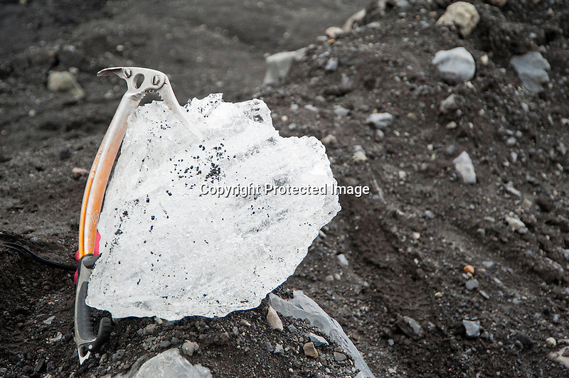 Katla Glacier Ice Iceland