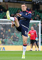 Bolton Wanderers' Jack Hobbs during the pre-match warm-up <br /> <br /> Photographer David Shipman/CameraSport<br /> <br /> The EFL Sky Bet Championship - Norwich City v Bolton Wanderers - Saturday 8th December 2018 - Carrow Road - Norwich<br /> <br /> World Copyright &copy; 2018 CameraSport. All rights reserved. 43 Linden Ave. Countesthorpe. Leicester. England. LE8 5PG - Tel: +44 (0) 116 277 4147 - admin@camerasport.com - www.camerasport.com