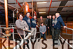 Mary Ferriter, Shane Griffin, Eamonn Dowd, Liam Flannery, Joe Joyce, Sean Burke, Michael Walsh, Cormac O'Connor and Patrick Devine from the Dingle Distillery.