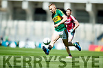 Peter Crowley Kerry in action against  Galway in the All Ireland Senior Football Quarter Final at Croke Park on Sunday.
