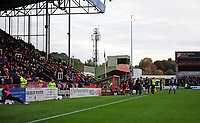 A general view of Sincil Bank, home of Lincoln City FC<br /> <br /> Photographer Andrew Vaughan/CameraSport<br /> <br /> The EFL Sky Bet League Two - Lincoln City v Crewe Alexandra - Saturday 6th October 2018 - Sincil Bank - Lincoln<br /> <br /> World Copyright &copy; 2018 CameraSport. All rights reserved. 43 Linden Ave. Countesthorpe. Leicester. England. LE8 5PG - Tel: +44 (0) 116 277 4147 - admin@camerasport.com - www.camerasport.com
