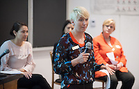 Tamara Himmelstein speaks.<br />