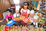 Enjoying the Cookery Camp in Ballybunion on Thursday were: Aisling Hennessy, Aoife O'Halluráin, Ruby Patterson, John O'Donoghue with Margaret O'Hanlon.