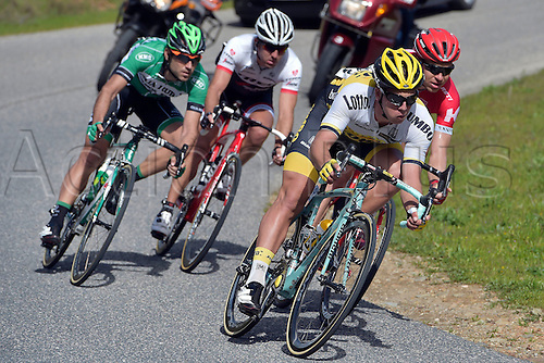 21.02.2016. Almodovor, Algarve, Portugal.  GROENEWEGEN Dylan (NED)  of TEAM LOTTO NL - JUMBO in action during stage 5 of the 42nd Tour of Algarve cycling race with start in Almodovar and finish in Malhao (Loule) on February 21, 2016 in Malhao, Portugal.