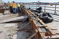 Boathouse at Canal Dock Phase II   State Project #92-570/92-674 Construction Progress Photo Documentation No. 08 on 21 February 2017. Image No. 12