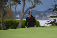 Scott Piercy (USA) approaches the green on 14 during round 1 of the 2019 US Open, Pebble Beach Golf Links, Monterrey, California, USA. 6/13/2019.<br /> Picture: Golffile | Ken Murray<br /> <br /> All photo usage must carry mandatory copyright credit (© Golffile | Ken Murray)
