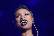 Washington, DC - October 25, 2014: Grammy and Oscar Award winning singer and actress Jennifer Hudson performs at the Human Rights Campaign's National Dinner, October 25, 2014, at the Walter E. Washington Convention Center in the District of Columbia.   (Photo by Don Baxter/Media Images International)