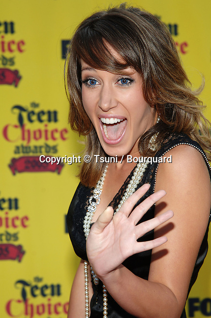 Haylee Duff at the Teen Choice Awards at the Universal Amphitheater in Los Angeles. August 14, 2005.