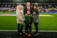 New signings during the Premier League match between Swansea City and Leicester City at The Liberty Stadium, Swansea, Wales, UK. Sunday 12 February 2017