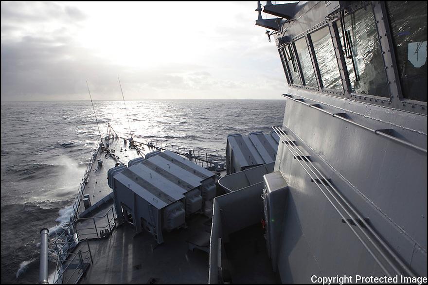 Décembre 2009/ Océan Atlantique/ navigation.