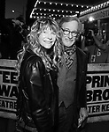 Cate Capshaw and Steven Spielberg attending the opening night performance for 'Springsteen on Broadway' at The Walter Kerr Theatre on October 12, 2017 in New York City.