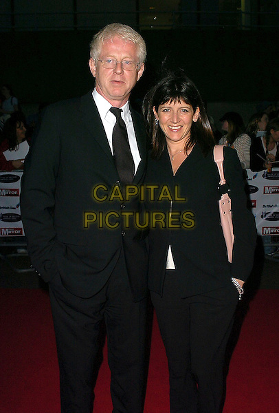 RICHARD CURTIS & EMMA FREUD.Pride of Britain Awards 2005, London.October 10th, 2005.Ref: CAN.half length black suit jacket.www.capitalpictures.com.sales@capitalpictures.com.©Capital Pictures