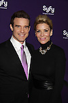 Eddie McClintock - Warehouse 13 & McKenzie Westmore - Face Off at the Syfy Upfront 2012 on April 24, 2012 at the American Museum of Natural History, New York City  (Photo by Sue Coflin/Max Photos)