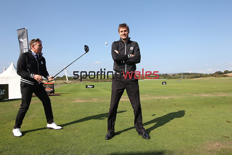 ISPS Handa Wales Open<br /> Trick shot show<br /> Celtic Manor Resort<br /> 21.09.14<br /> ©Steve Pope-SPORTINGWALES
