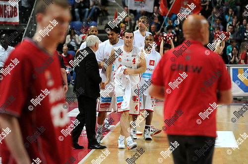 2013-05-12 / Basketbal / seizoen 2012-2013 / Antwerp Giants - Luik / De Giants winnen..Foto: Mpics.be