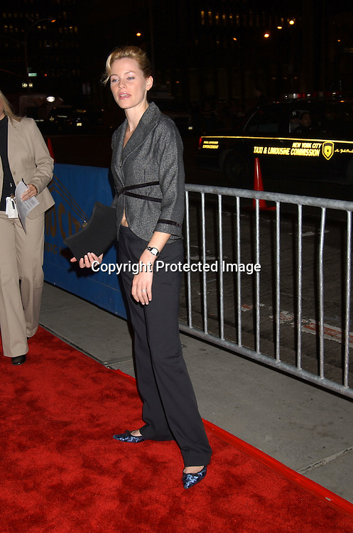..Elizabeth Banks of Seabiscuit ..at  Sinatra: His Voice, His World , His Way, Gala opening night at Radio City Music Hall on October 14, 2003 in New York City. Photo by Robin Platzer, Twin Images