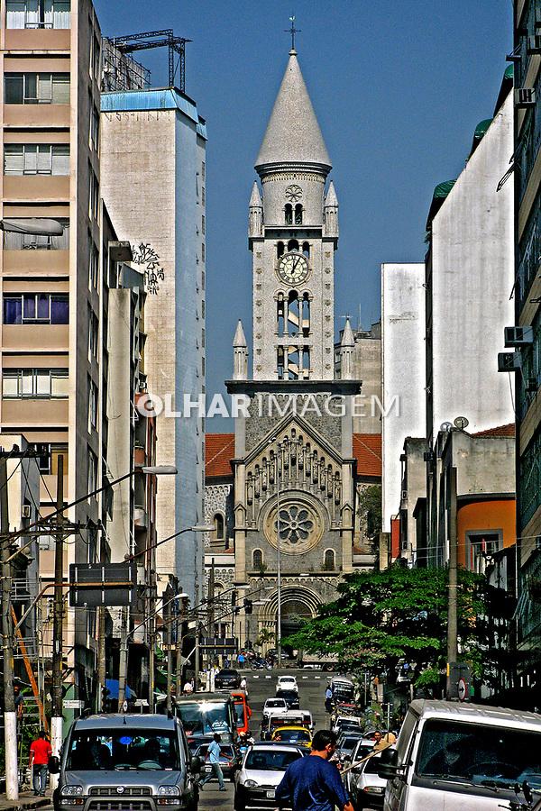 Igreja da Consolação em São Paulo. 2007. Foto de Juca Martins.