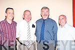 Fr Donnac Dennehy Headford, Killarney celebrates 40 years since his ordination in Darby O'Gills Killarney Saturday night l-r: Anthony Daly, Pat Kirby, Fr. Donnac Dennehy, Michael Kirby .