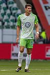 09.09.2017, Volkswagen Arena, Wolfsburg, GER, 1.FBL, VfL Wolfsburg vs Hannover 96<br /> <br /> im Bild<br /> Mario Gomez (VFL Wolfsburg #33), <br /> <br /> Foto &copy; nordphoto / Ewert