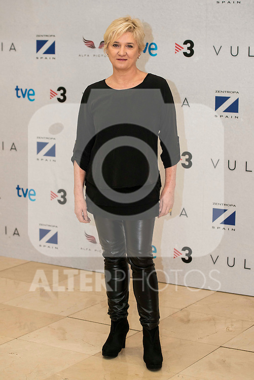 """Ana Wagener during the presentation of the film """"Vulcania"""" at Cines Princesa in Madrid, February 29, 2016<br /> (ALTERPHOTOS/BorjaB.Hojas)"""